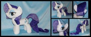 Rarity -- Bronycon 2014 by Peruserofpieces