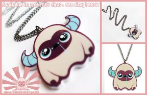 Little Tomo - Kawaii Necklace Charm by TomodachiIsland