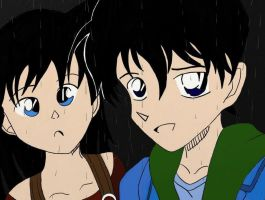 Shinichi and Ran by Charlotte-Holmes