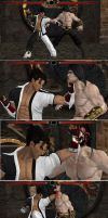 Jin Kazama X Ray Move by Tony-Antwonio