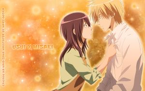 Usui x Misaki wallpaper 5 by Mary-Gotika