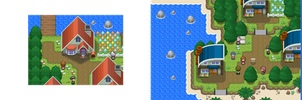 Your starting town is evolving :D by Demise-Hawk