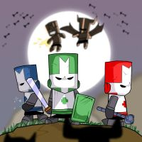 Castle Crashers Again by 2Stickman2