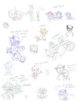 Doodles of My Characters 2 by Frankyding90