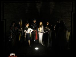 Gruppo Cosplay LOTR Lucca 2012 14 by LizCosplay1982