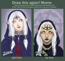 Improvement Meme by charlottevevers