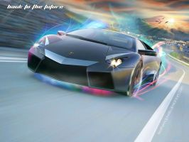 Reventon - Back to the future by featheredpixels