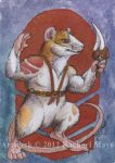 ACEO: Arcus for MoonSongWolf by rachaelm5