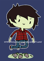 Marshall Lee by MinjiXMuu-chan