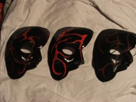 masquerade masks by Lonewolf83