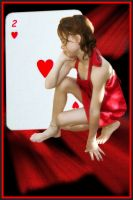 Deuce of Hearts Anniversary by Lauraest