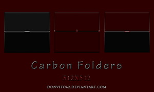 Carbon Folders by donvito62