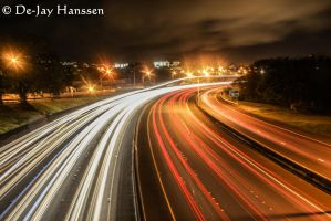 Midnight Rush Hour by HanssenPhotography