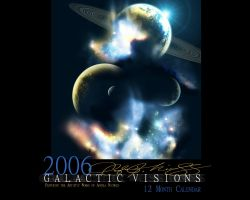 Galactic Visions Calendar by GieGie