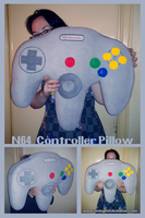 N64 Controller Pillow by tavington
