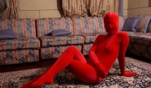 Red girl by mysexyzentai