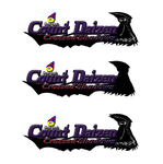 Count Daizen crossed Shadows logo variations by CreativeArtist-Kenta