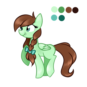 Lucky Clover - Character Ref by LCpegasister75