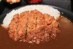 Curry katsu by patchow
