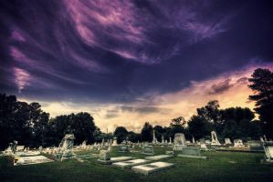Hampton Cemetery by dubtastic
