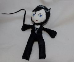 Catwoman Plushie by deense