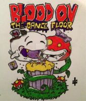 Blood On The Dance Floor Shirt Design by bewitchedgirl