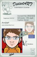 Deviant ID by andart