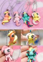 My Little Pony Sparkle Plushy Necklaces by IvrinielsArtNCosplay