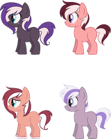 [OPEN] - Whiplash X Tongue Twister Fanfoals by Featheries