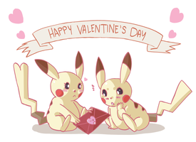 Happy Valentine's Day by Handyheart