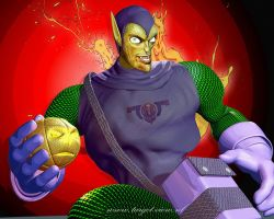 3D Green Goblin by TargetView