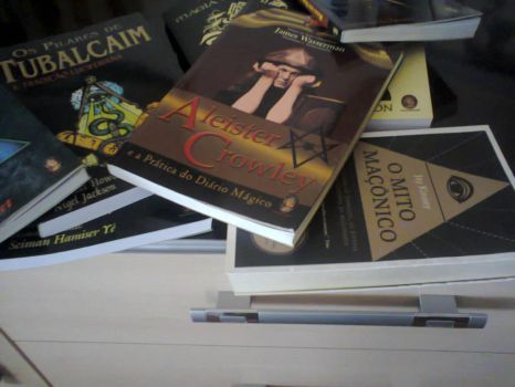 My books about occultism, freemasonry, etc by felipe13555