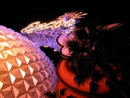 Epcot Spaceship Earth Stock 10 by AreteStock