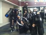 Black Rock Shooter cosplayers by RikaTheAssassin17