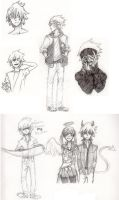 another Soul Eater sketchdump by Jazzie560