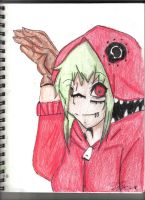 Vocaloid Gumi by wingsoffreedomxx