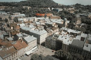 Lviv from above by julismith