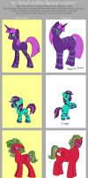 Character Creator Meme - MLP by merrypaws