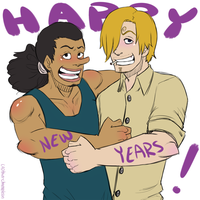 Happy (late??) New Years! by DandyChameleon