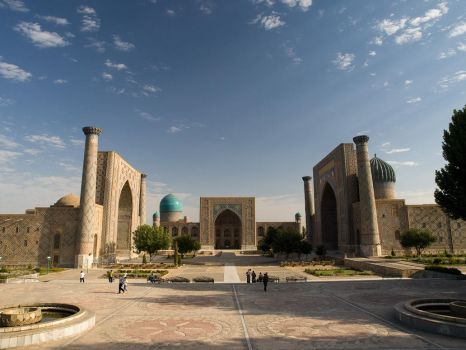 Registan square, Samarkand,UZB by Kamron77