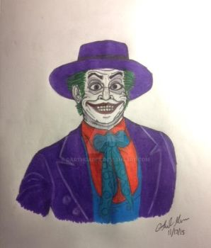 Joker (Jack Nicholson) by DarthGaber