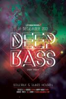 Deep Bass Flyer by styleWish