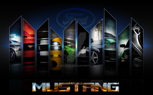 Mustang wallpaper by bry5012