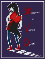 Marceline the Vampire Queen by Omnomnom-Monster