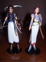 Namco Valkyire Figures part 2 by KittyChanBB