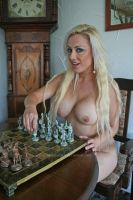 Chess with Michelle 1 by Singingnaturist