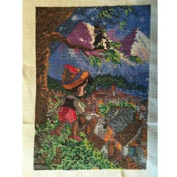 Pinocchio Cross Stitch by sydneyhicks111