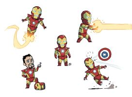 Little Ironman by darrenrawlings