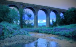 The Viaduct 2 by welshdragon