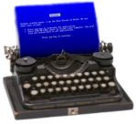 BSOD - typewriter?? by isaacrtree